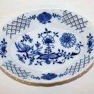 "Zwiebelmuster Blue Onion Fine China Porcelain Pierced Oval Serving Bowl Czech 7"""