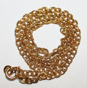 """4.380 Grams 14K Yellow Gold 16"""" Chain Stamped Italy Italian Scrap or Not"""
