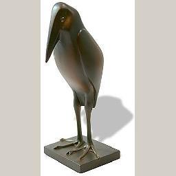 Marabou Stork by Francois Pompon