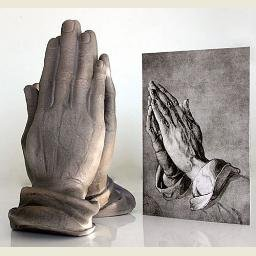 Praying Hands of an Apostle by Durer