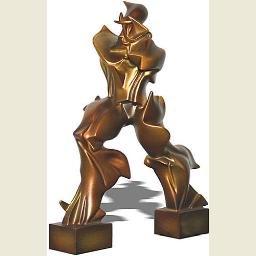 Futuristic Man by Boccioni