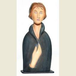 Modigliani Blue eyed woman (1917)