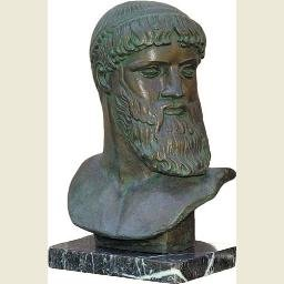 Zeus from Artemision Bust