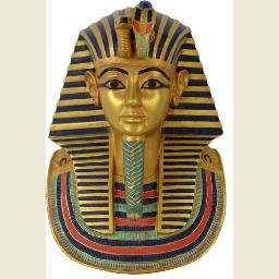 King Tut Mask Wall Plaque
