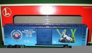 Lionel Trains 29227 2332 Pennsylvania GG-1 Century Club Box Car - 1998 Edition New OB - O Gauge