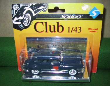 Solido Club Lionel 1946 Police Chrysler Sedan New Die Cast 1:43