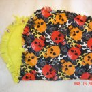 Skull/ Flame Rag Burp Cloth