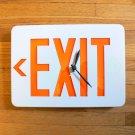 Exit Sign Clock