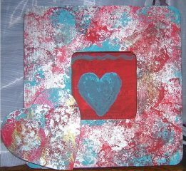 Jazzy HEART Picture Frame