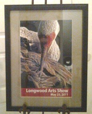 Framed Official Longwood Arts Show 2011 Framed -Unsigned