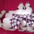 Cutie Pie Kitty with Bow Tie