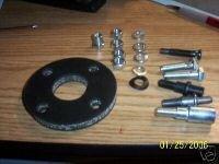Mustang Cougar Torino Rag Joint NEW Steering Coupler