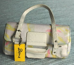Beach Frangipani Purse by Done - NWT
