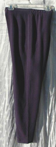 NWT CHICO's DESIGN Navy Blue SILK Pants - Chicos Size 1 Small Medium