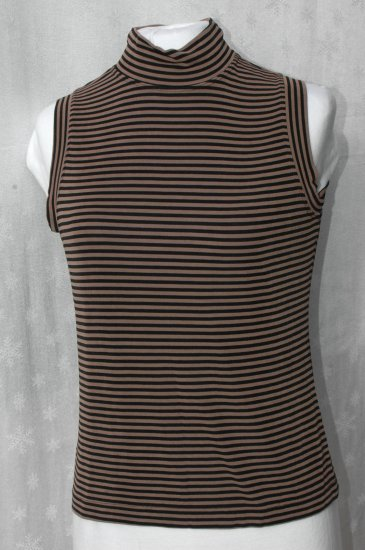 CHICO'S PRIVATE EDITION Slinky Mock Turtleneck top - Chico's 1 S M