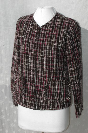 CHICO'S Tweed Jacket Blazer - Chicos Size 0 - S