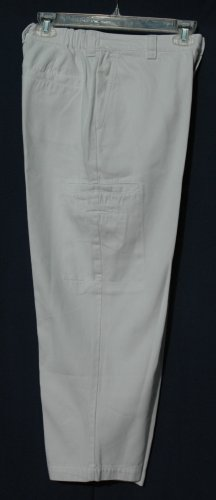 CHICO's DESIGN White Cotton Capris Cropped Pants - Size 0 - Small