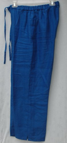 JAMS WORLD Cobalt Blue - HYDRANGEA - Drawstring Pants - Size Medium