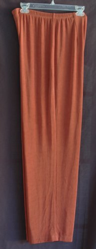 CHICO's TRAVELERS Copper Slinky Knit Pants - Chicos Size 3 Large XL
