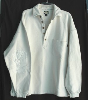 TOMMY BAHAMA Naples Florida Sailfish COTTON Rugby Shirt - Size M