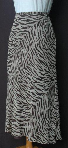 JONES NEW YORK Animal Print SILK Skirt - Size 14