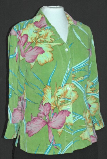 TIANELLO vibrant Orchid blouse - XS