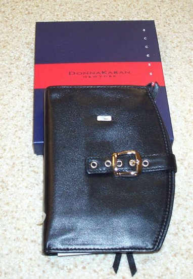 Donna Karen New York (dkny) Women's Black Leather Wallet