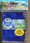 YUGIOH CARD PROTECTORS, PACK OF 50, TYPHOON BLUE