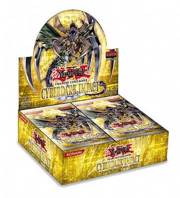 YuGiOh - Cyberdark Impact 1st Edition Booster Box