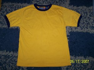 NN boys sz xl 7 seattle cotton works ringer shirt