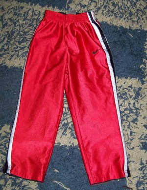 NN boys 4/4T Nike reversible warm-up pants