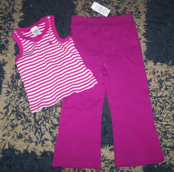 NWT girls 3T Childrens Place/Oshkosh outfit tank/pants