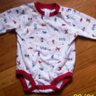 LN ADORable boys 3 mos Carters 1pc on the go shirt