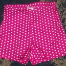 NWOT darling girls 24 mos/2T KC pink polka dot shorts