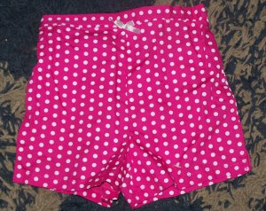 NWOT darling girls 24 mos/2T KC pink polka dot shorts
