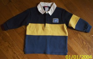 LN boys xxs 12-18mos Gymboree polo shirt