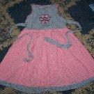 NN girls 2T baby crew patriotic gingham sundress tie bk