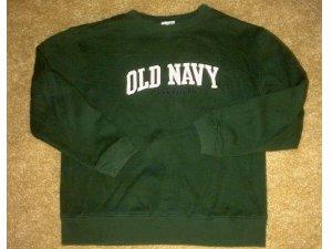NN boys/girls sz 8 Old Navy logo sweatshirt