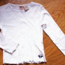 DARLING LN girls sz 6 faded glory butterfly top