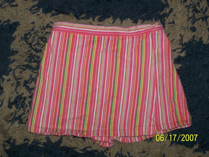 CUTE girls 24 mos striped skorts/shorts/skirt