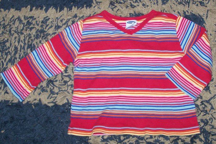 Nice girls sz 5/5T Old Navy 3/4 slv shirt