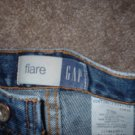 Girls' Size 12 GAP flare style blue jeans **INCLUDES SHIPPING!!**