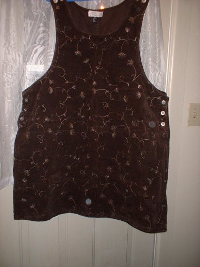 Ladies Plus Size Jumper 3x Chocolate Coloured Soft  SHIPPING INCLUDED!!