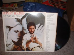 "Robert Holmes ""Partners in Crime"" Vinyl Record Album (we combine shipping)"