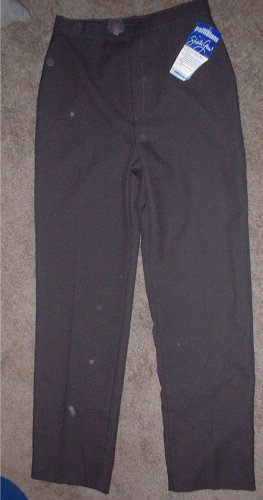 Ladies Grey Dress Pants Size 14 NEW.  Price INCLUDES SHIPPING!!