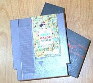 The Great Waldo Search NES Vintage Game Original Nintendo
