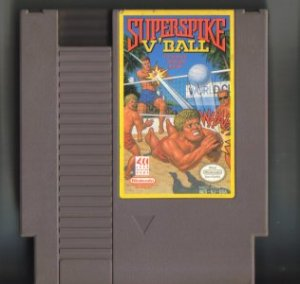 Superspike V Ball NES Vintage Game Original Nintendo