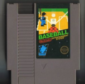 Baseball NES Vintage Game Original Nintendo
