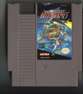 Ultra Rollergames NES Vintage Game Original Nintendo