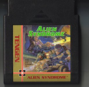 Tengen Alien Syndrome NES Vintage Game Original Nintendo